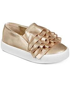 Kenneth Cole New York Kam Ruffle-T Slip-On Shoes, Toddler Girls