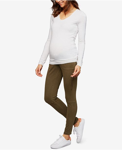 A Pea in the Pod Maternity Skinny Cargo Pants