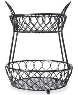 Gourmet Basics By Loop & Lattice 2-Tier Basket