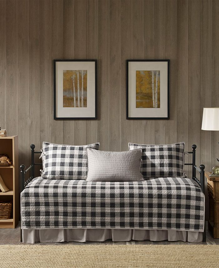 Woolrich - Buffalo Check 5-Pc. Daybed Bedding Set