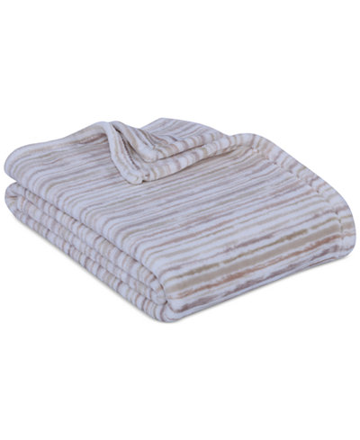 Berkshire Brushed Stripe VelvetLoft Throw
