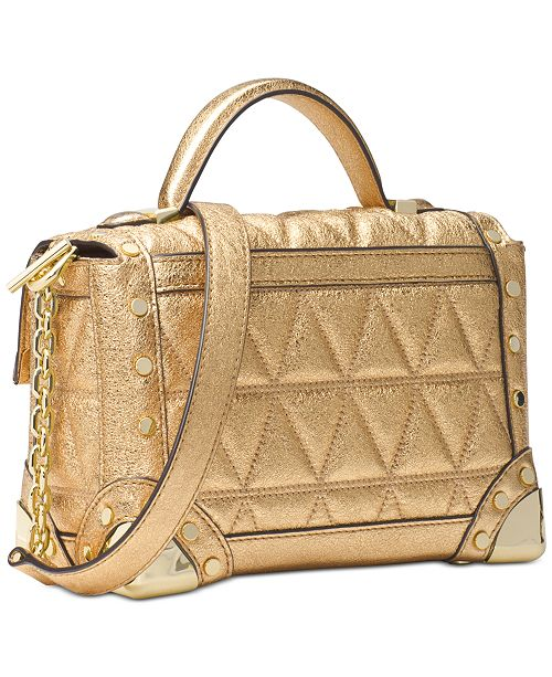 c9a8788f2a26 Michael Kors Cori Small Trunk Bag   Reviews - Handbags   Accessories ...