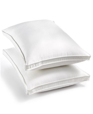 Luxury Supima Cotton Firm Standard/Queen Down-Alternative Pillow, Created for Macy's