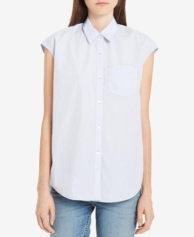Calvin Klein Jeans Cotton Striped Shirt