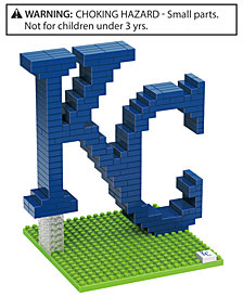 Forever Collectibles Kansas City Royals BRXLZ 3D Logo Puzzle