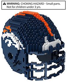 Forever Collectibles Denver Broncos BRXLZ 3D Helmet Puzzle