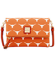 Dooney & Bourke Texas Longhorns Foldover Crossbody Purse