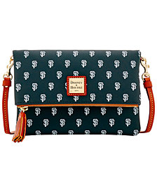 Dooney & Bourke San Francisco Giants Foldover Crossbody Purse