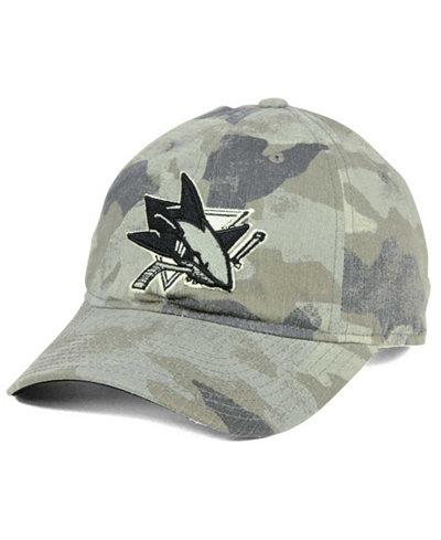 adidas San Jose Sharks Camo Slouch Cap
