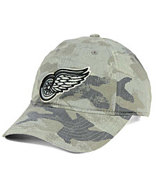 adidas Detroit Red Wings Camo Slouch Cap