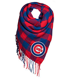 Forever Collectibles Chicago Cubs Blanket Scarf