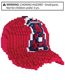 Forever Collectibles Los Angeles Angels BRXLZ 3D Baseball Cap Puzzle
