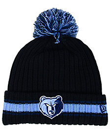 New Era Memphis Grizzlies Basic Chunky Pom Knit Hat