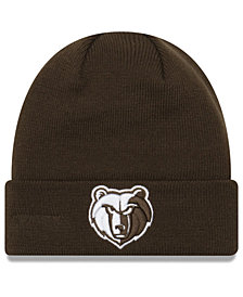 New Era Memphis Grizzlies Fall Time Cuff Knit Hat