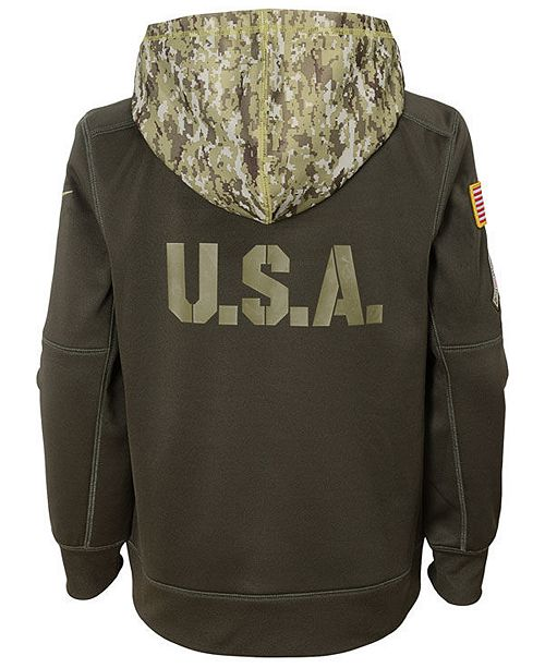 ac46fde75 Nike Chicago Bears Salute To Service Therma Hoodie