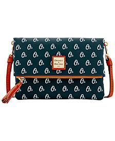 Dooney & Bourke Baltimore Orioles Foldover Crossbody Purse