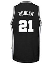 adidas Tim Duncan San Antonio Spurs Retired Player Swingman Jersey da5e9b01e