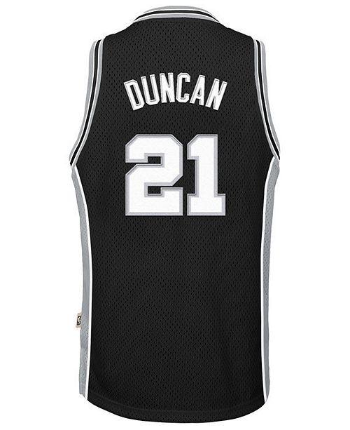 adidas Tim Duncan San Antonio Spurs Retired Player Swingman Jersey ... f07f8e5bd