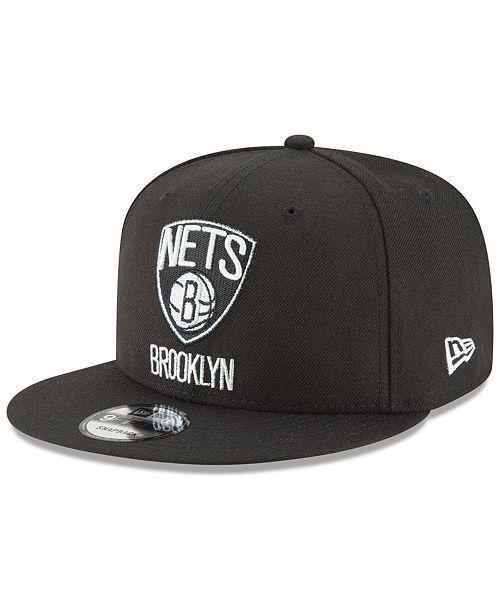 best sneakers 0ee69 9d4ed ... New Era Brooklyn Nets Team Metallic 9FIFTY Snapback Cap ...