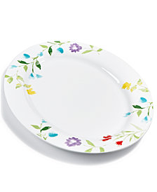 CLOSEOUT! Martha Stewart Collection Floral Serve Platter