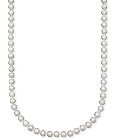 Belle de Mer Pearl Necklace, 18