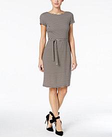 Weekend Max Mara Striped Wrap Dress