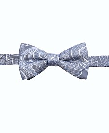 Ryan Seacrest Distinction™ Men's Wakeview Paisley Pre-Tied Bow Tie, Created for Macy's