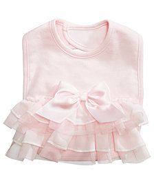 First Impressions Ruffle Bib, Baby Girls, Created for Macy's