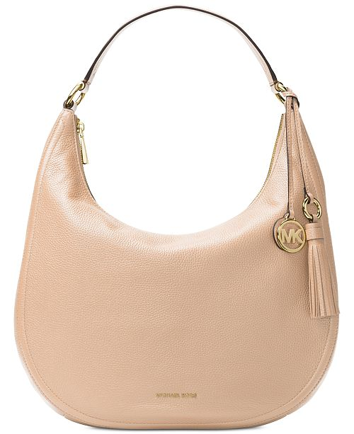 f0662d5af853 Michael Kors Lydia Large Hobo With Tassel   Reviews - Handbags ...