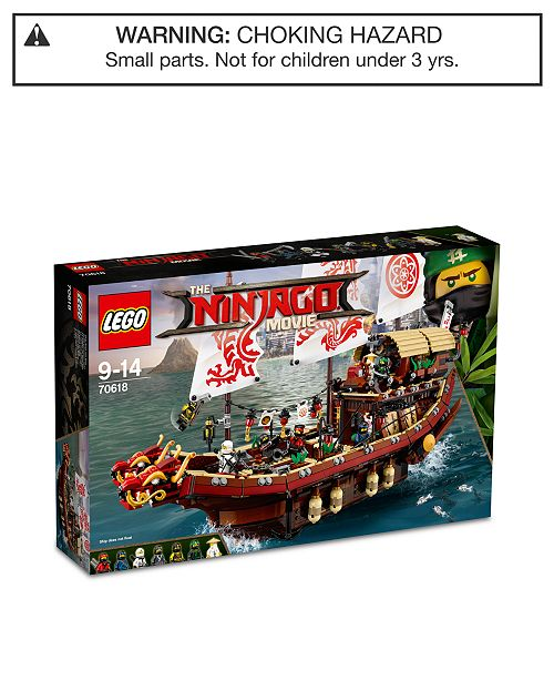 36a9c247c81 LEGO® 2295-Pc. Ninjago Destiny s Bounty Set 70618   Reviews - Toys ...