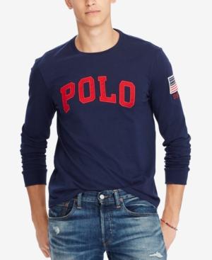 Polo Ralph Lauren Men S Custom Slim Fit Logo-Print T-Shirt f0292c09a81