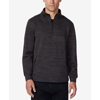 32 Degrees Mens Fleece Quarter-Zip Tech Jacket Deals