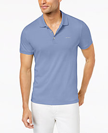Calvin Klein Men's Big & Tall Interlock Liquid Touch Polo