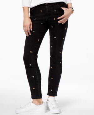 Dl 1961 Bella Embellished Straight-Leg Jeans 5220641