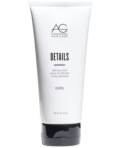 AG Hair Details Defining Cream, 6-oz., from PUREBEAUTY Salon & Spa