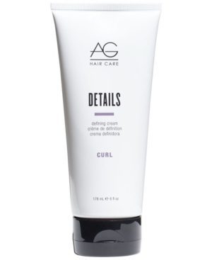 Image of Ag Hair Details Defining Cream, 6-oz, from Purebeauty Salon & Spa