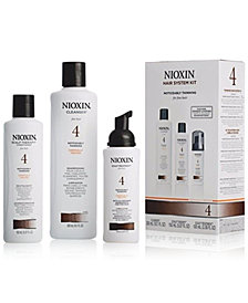 Nioxin 3-Pc. System 4 Set, from PUREBEAUTY Salon & Spa
