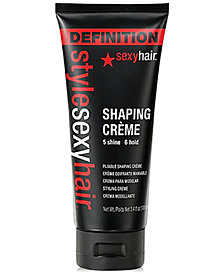 Sexy Hair Style Sexy Hair Shaping Crème, 3.4-oz., from PUREBEAUTY Salon & Spa