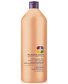 Pureology Precious Oil Softening Conditioner, 33.8-oz., from PUREBEAUTY Salon & Spa