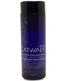 Catwalk Your Highness Nourishing Conditioner, 8.45-oz., from PUREBEAUTY Salon & Spa