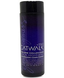 TIGI Catwalk Your Highness Nourishing Conditioner, 8.45-oz., from PUREBEAUTY Salon & Spa
