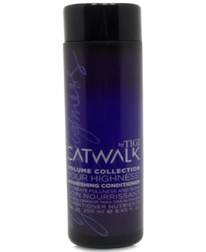 Image of Tigi Catwalk Your Highness Nourishing Conditioner, 8.45-oz, from Purebeauty Salon & Spa