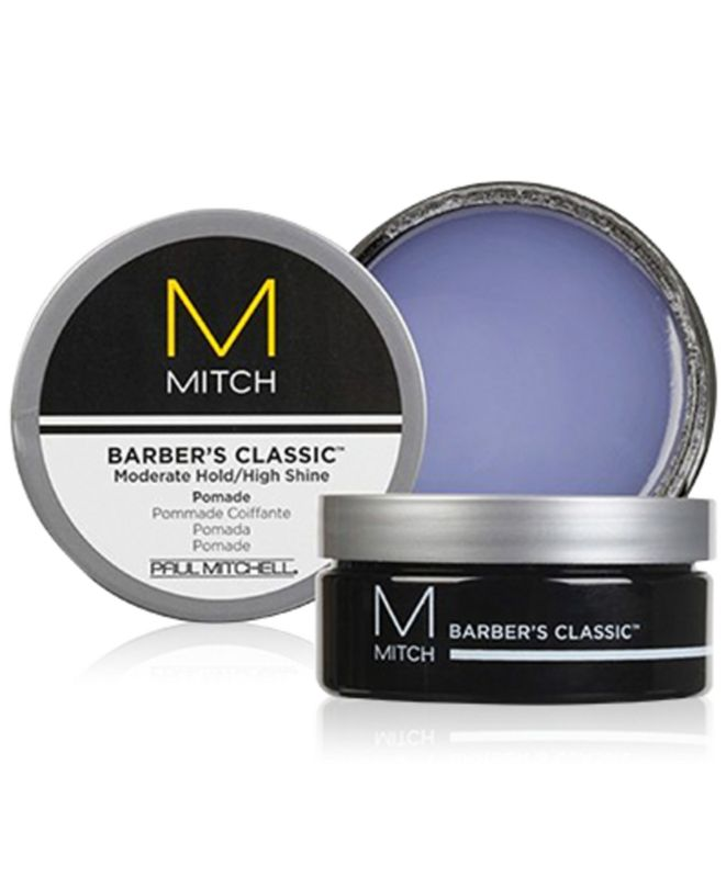 Paul Mitchell Mitch Barber's Classic Moderate Hold/High Shine Pomade, 3-oz., from PUREBEAUTY Salon & Spa