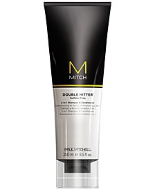 Mitch Double Hitter 2-In-1 Shampoo & Conditioner, 8.5-oz., from PUREBEAUTY Salon & Spa