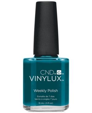 Creative Nail Design Vinylux Splash Teal Nail
