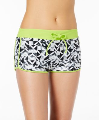 Geo Graphic Content Swim Shorts
