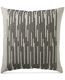 CLOSEOUT! Hotel Collection Global Stripe European Sham, Created for Macy's
