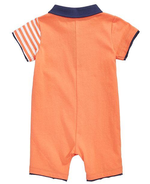 bb4e99813487 First Impressions Cotton Giraffe Romper