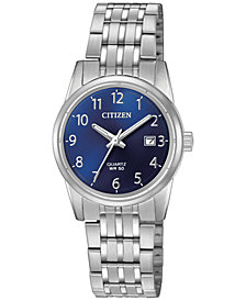 Citizen Women's Stainless Steel Bracelet Watch 27mm