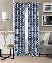 Elrene Grayson Blackout Panel Collection - Easy Care Linen Look!